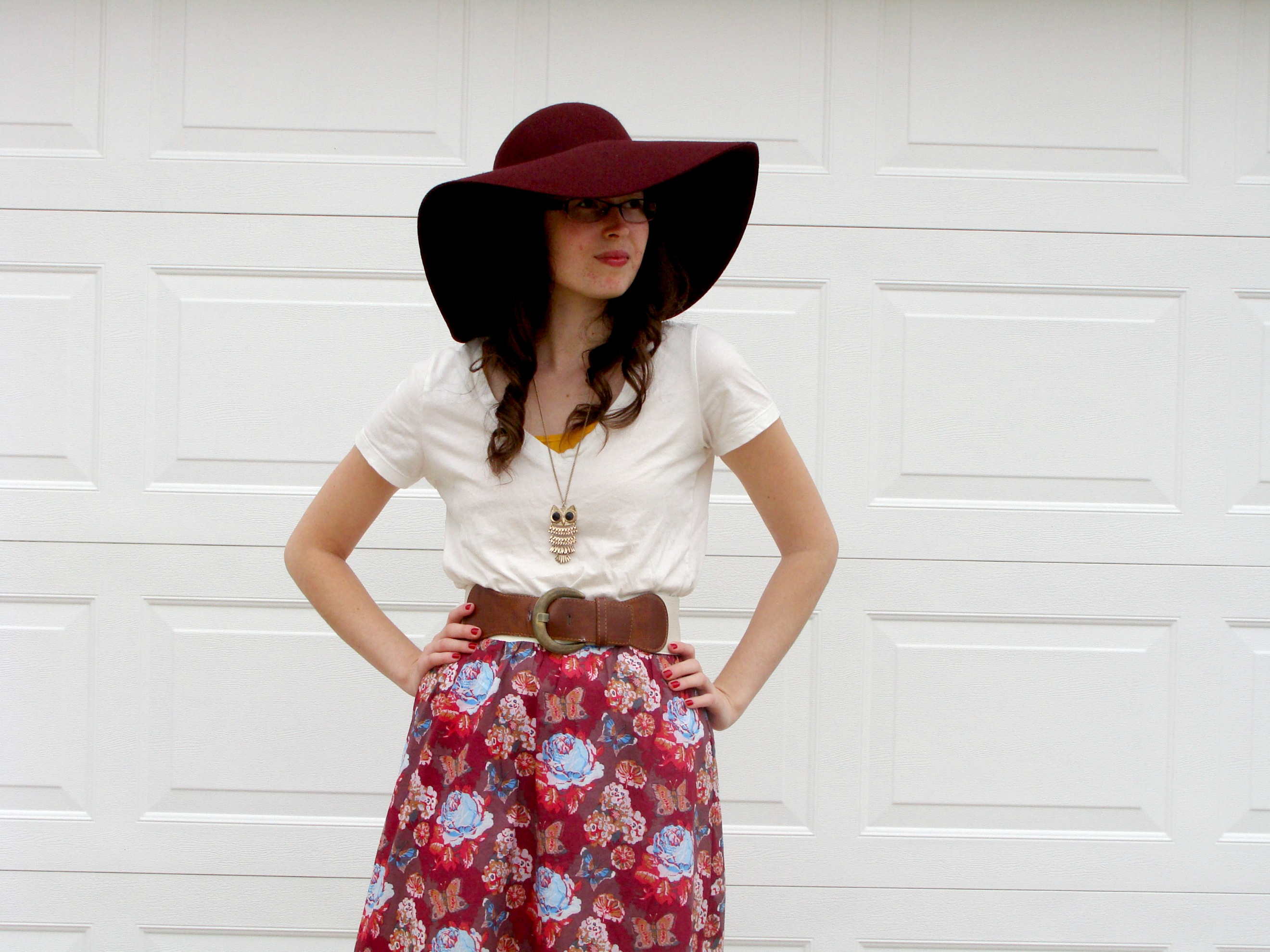 DIY: Hi-Low Maxi Skirt Tutorial