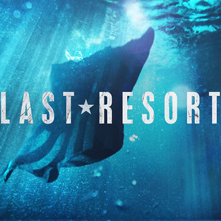 Last Resort - Flag in the Water