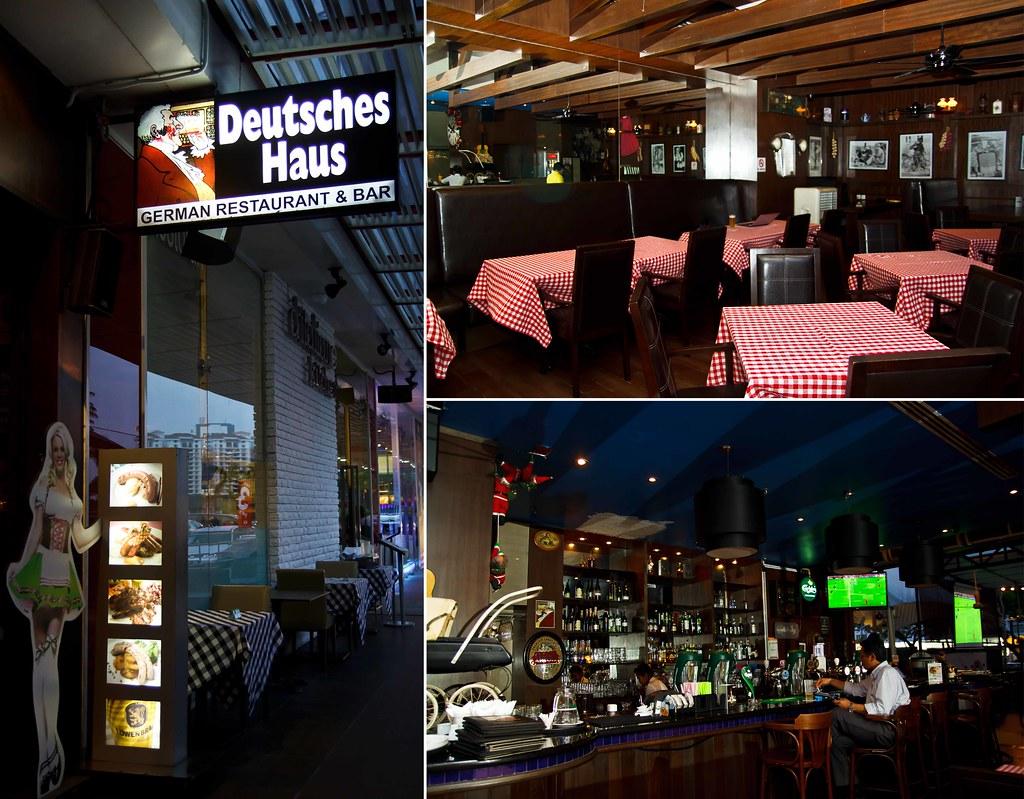 deutsches haus german restaurant bar jaya 33 invited review malaysian flavours. Black Bedroom Furniture Sets. Home Design Ideas