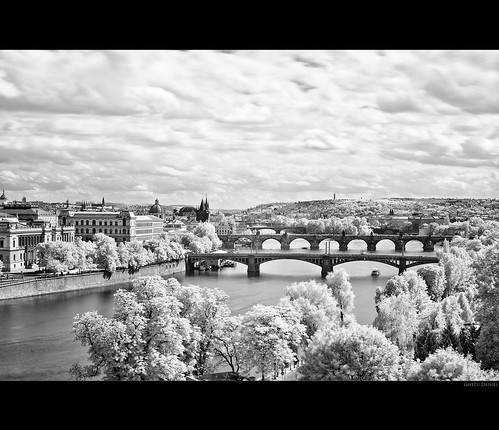 Prague - Infrared II by Ghetu Daniel