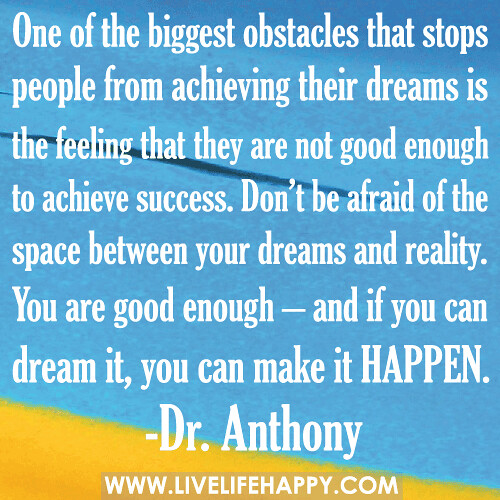 4 Obstacles to Fulfilling Your Dream