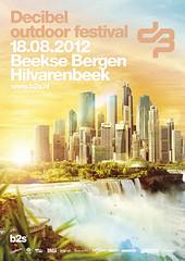 cyberfactory 2012 decibel outdoor weekend hardstyle festival beekse bergen hilvarenbeek nederland