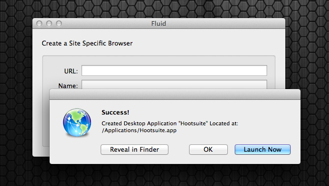 Success in setting up your Hootsuite desktop app.