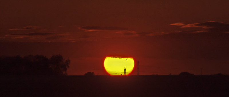 Venus Visible at Sunset