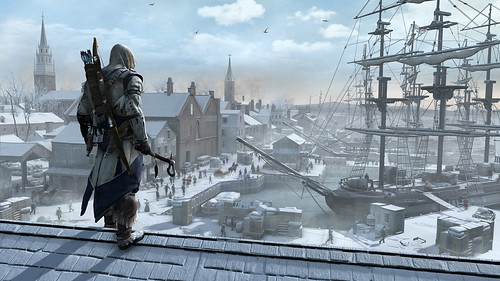 First Look: Assassin's Creed III - Boston Port Vista