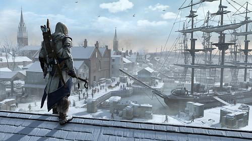 First Look: Assassin's Creed III - Boston Port Vista