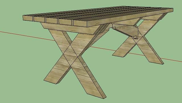 defi sketchup page 2 copain des copeaux. Black Bedroom Furniture Sets. Home Design Ideas