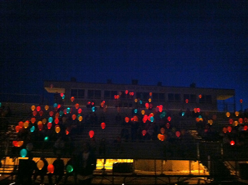 Luminaria Ceremony View