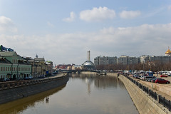 Vue sur la Moskova