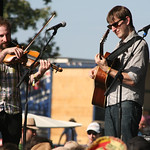 On a beautiful day at the Sonic Stage. Photo by Laura Fedele