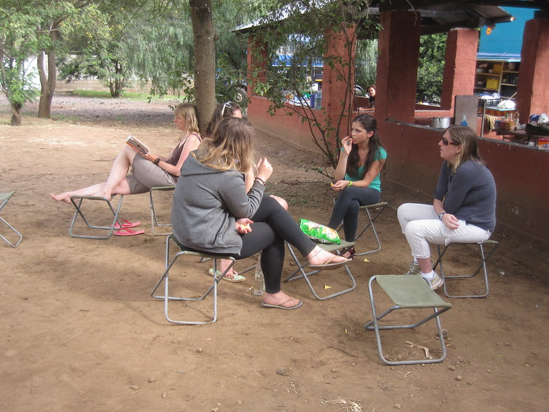 Chatting Tanzania Africa