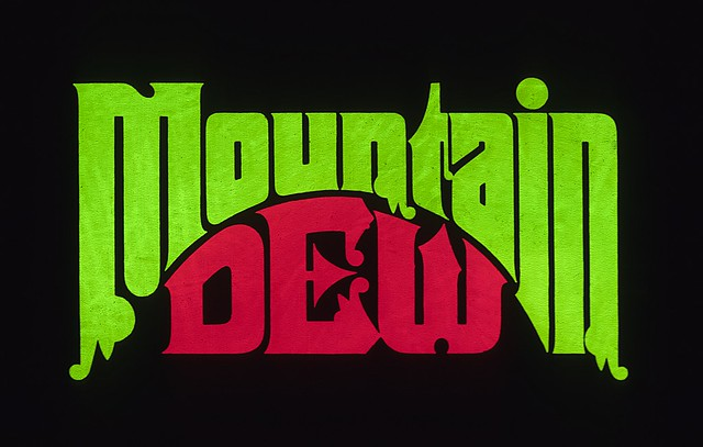 Mountain Dew pitched design