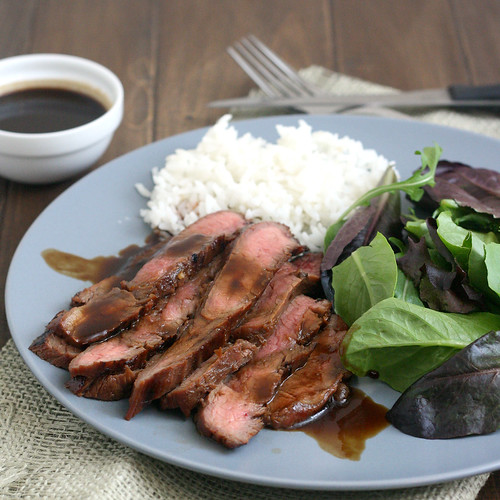 Bourbon and Brown Sugar Marinated Flank Steak | Tracey's Culinary ...