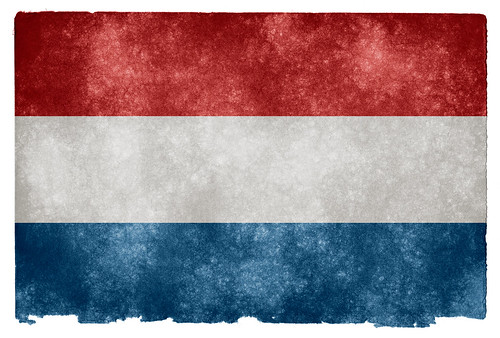 Netherlands Grunge Flag