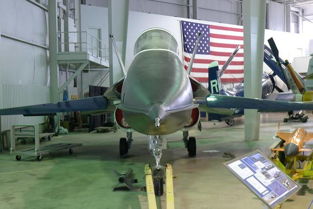 Front: YF-17 (P/F18) Prototype AC 1002
