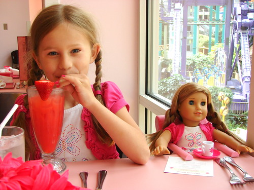 Our Visit to The American Girl Store, Mall of America