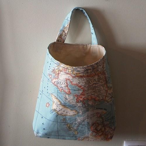 Bolsa de Parede : Wall pocket by Coisas de Fazer - Handmade in Portugal