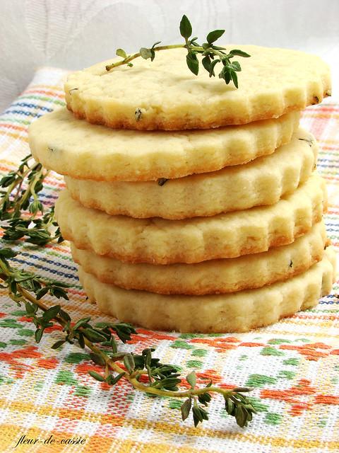 печенье песочное с тимьяном 1