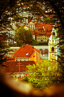 Glimpse at Ljubljana