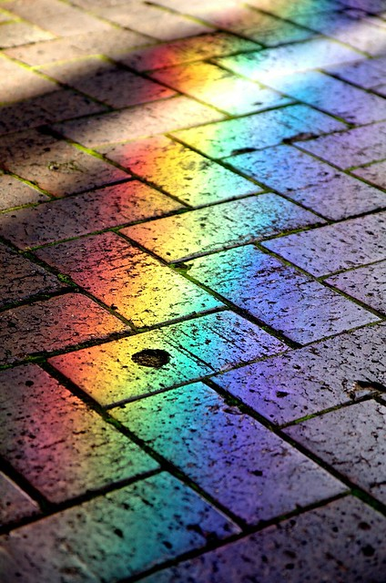 Urban Rainbow Path