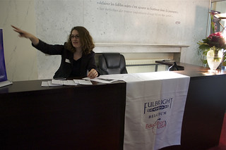 Interning at the Fulbright Commission