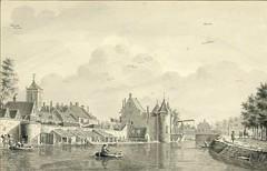<p>Stadsbuitengracht noordzijde, zicht op de Weerdsingel. Coll. Het Utrechts Archief.</p>
