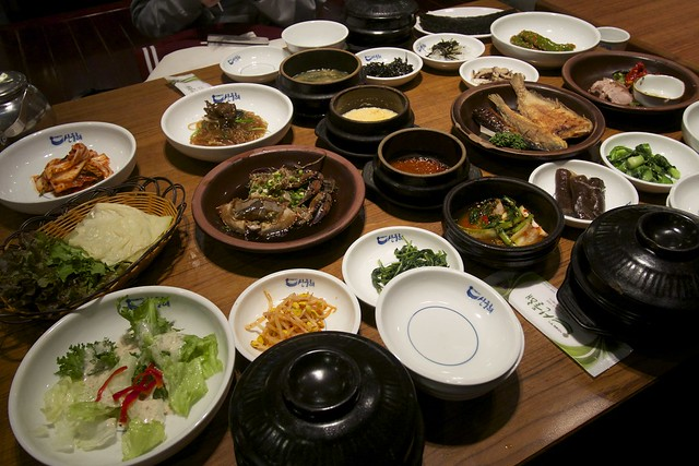 Family Dinner, Korean Style