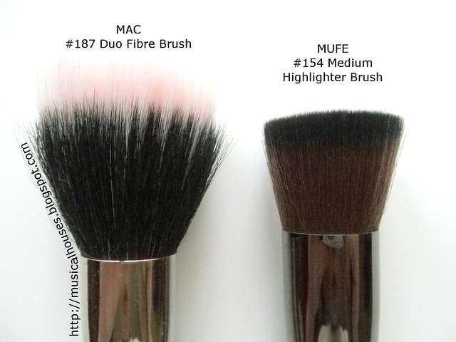 MUFE Medium Highlighter Brush MAC 187