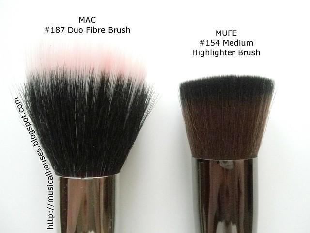 MUFE Medium Highlighter Brush MAC 187