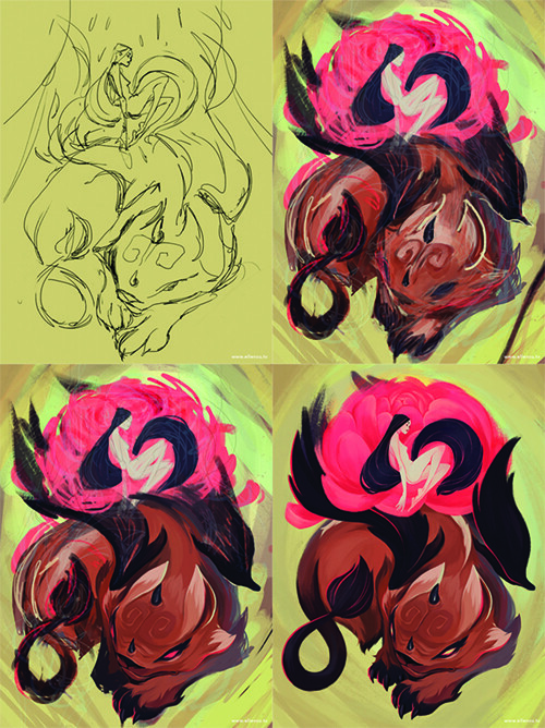 Process for Pixiu by Ellen Su