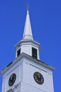 Church clock Williamstown Vermont