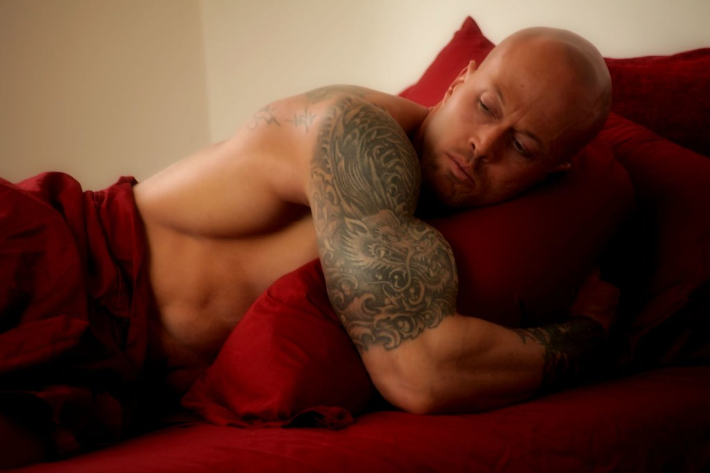 Tattooed Romance Cover Model John Quinlan Erotica
