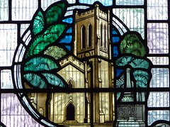 Real Buildings in Stained Glass