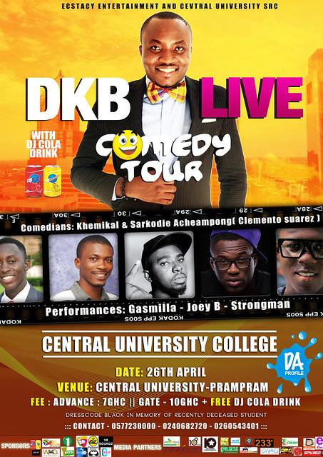 DKB LIVE COMEDY TOUR cuc
