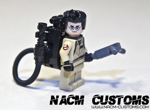 NACM Custom Printed Ghostbusters Arm Patch