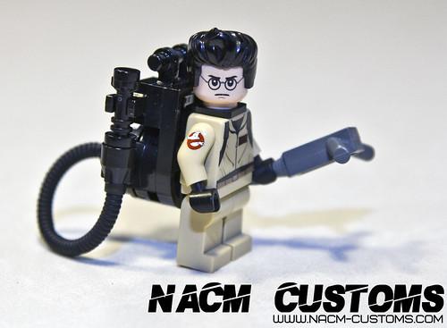 NACM Custom Printed Ghostbusters Arm Patch
