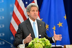 U.S. Secretary of State John Kerry addresses the seventh U.S.-EU Energy Council meeting on May 4, 2016, at the U.S. Department of State in Washington, D.C. [State Department photo/ Public Domain]