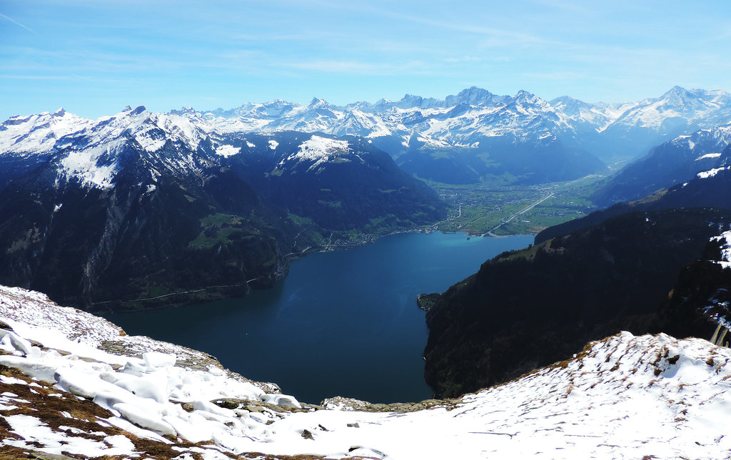 View from Hundschopf, Swiss Alps