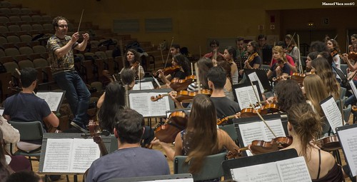 Presentación concierto de la Orquesta Sinfónica Conjunta en el Alcázar