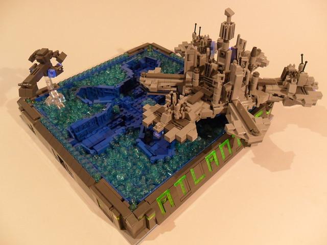 LEGO Stargate Atlantis Display
