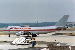 Air-India Cargo  Boeing 747-200 (C-25/E-4) N747WR