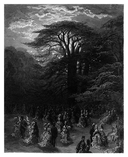 012-Una fiesta en Cheswick-London A Pilgrimage 1890- Blanchard Jerrold y Gustave Doré- © Tufts Digital Library