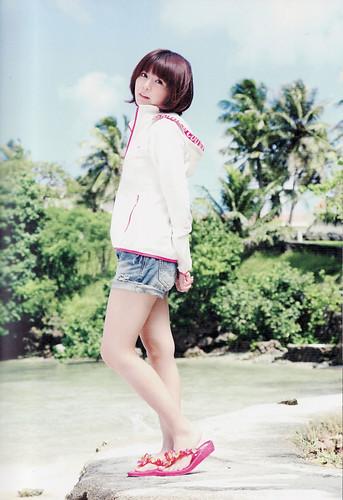 120324(3) - 女性聲優「竹達彩奈」的寫真集處女書《AYANA》泳裝其實是她自己的私有服! (2/5)