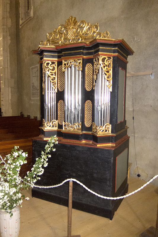 Small church organ