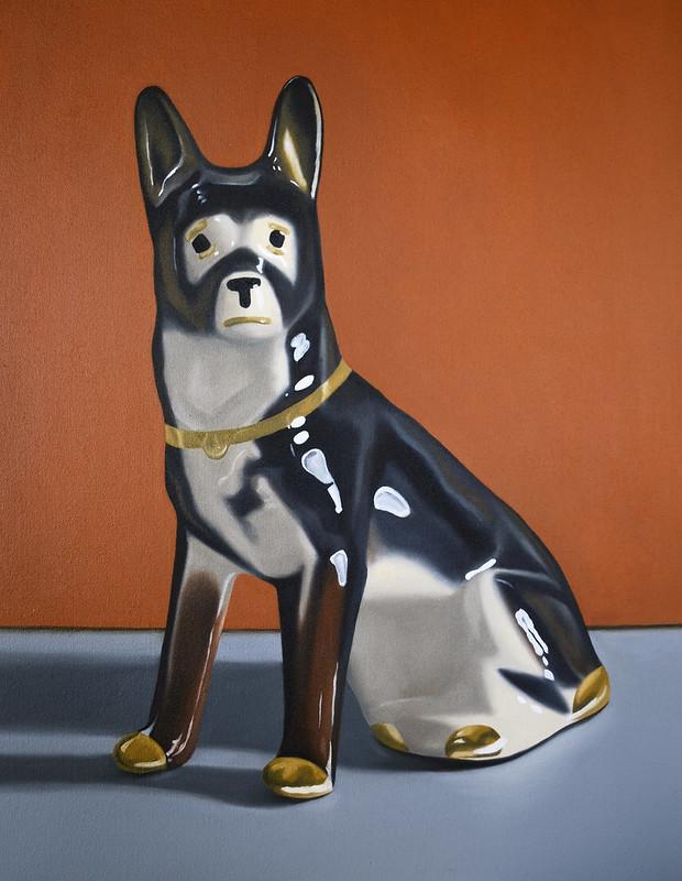 Dog - 19x24 - Cassie Marie Edwards