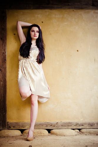 [フリー画像素材] 人物, 女性, ワンピース・ドレス, イギリス人 ID:201204151400