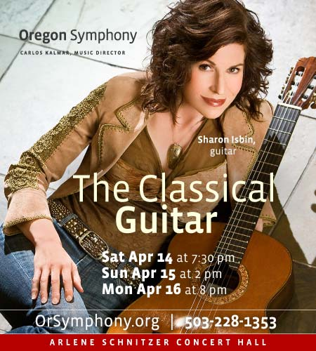 The Classical Guitar @ Oregon Symphony