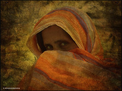 Portrait of a Woman / Face of Arabia