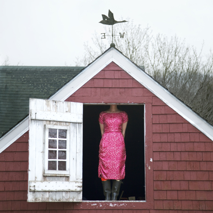 Cig Harvey, The Weathervane, Self-Portrait, Rockport, Maine, 2010