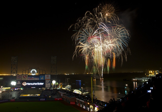 Opening Night Fireworks 2012